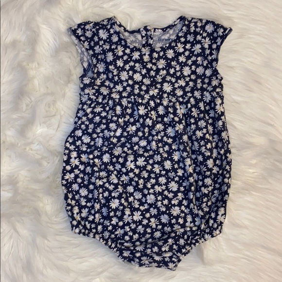Old baby baby girl bubble romper - 18-24 months